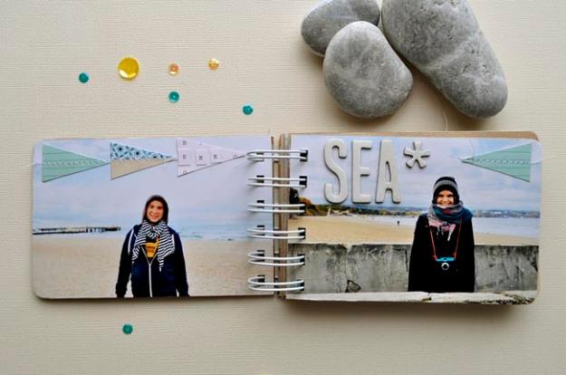 SEA mini album Kasia Tomaszewska p1