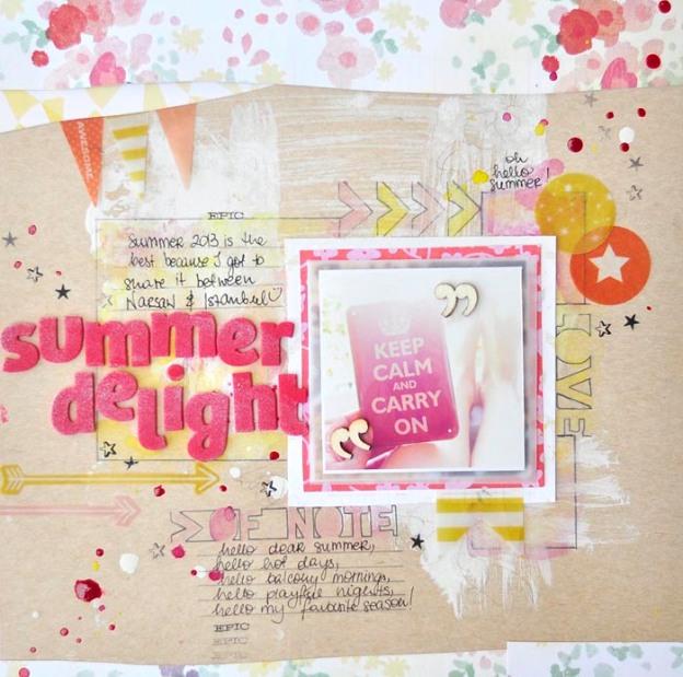 Summer Delight CTK July