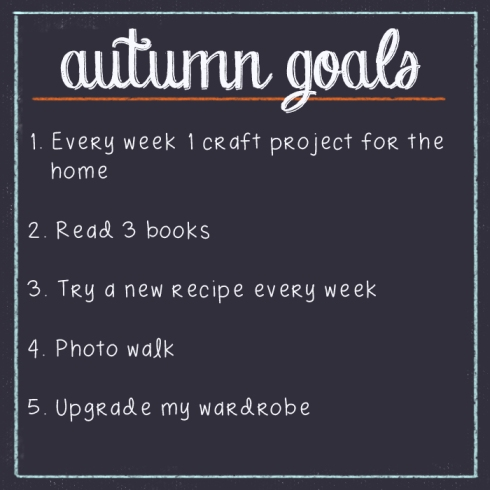 autumn goals