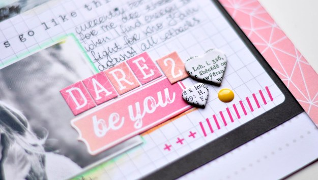 Dare to be You kit add on march Kasia DET3