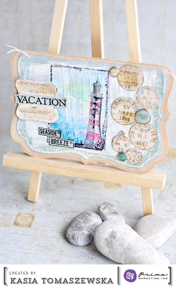 SeaShore card Kasia PDT