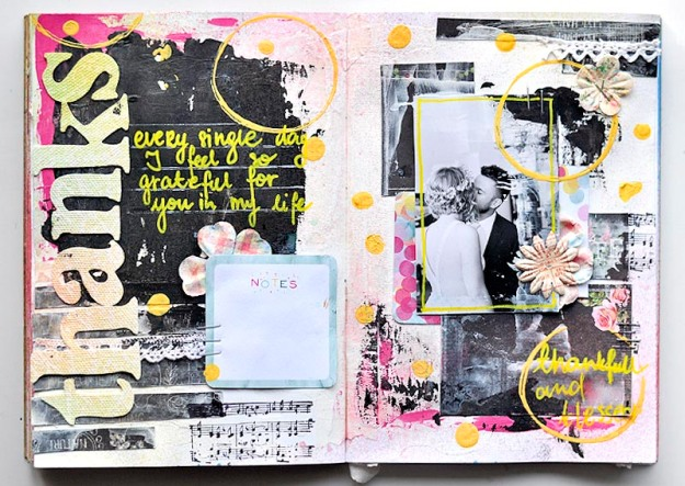 THANKS art journal Kasia1