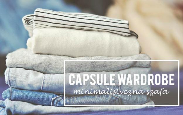 capsule wardrobe szafa w kapsulce