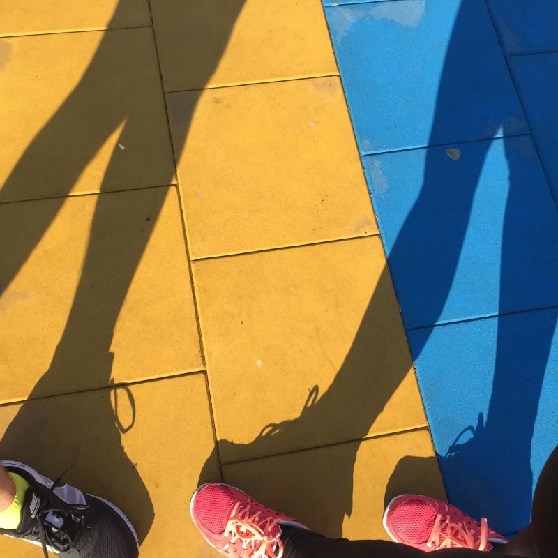 kolorowe bieganie