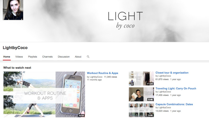 youtube Light by Coco