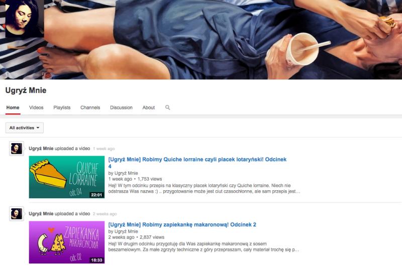 Ugryz mnie youtube
